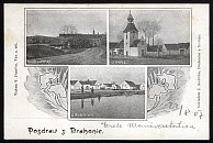 Drahonice – pohlednice (1907)